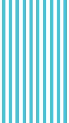 かわいい水色ストライプiPhone壁紙