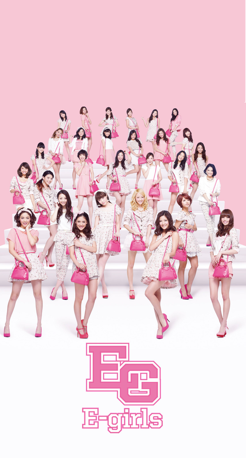 E-girlsメンバー