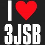 超カワ!!三代目JSBファンに贈る I Love 3JSBロゴブラック