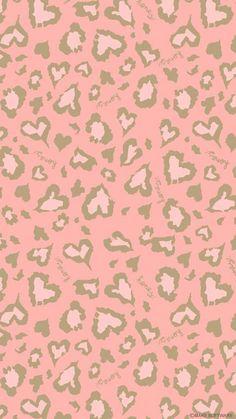 ピンク豹柄iPhone壁紙 Wallpa