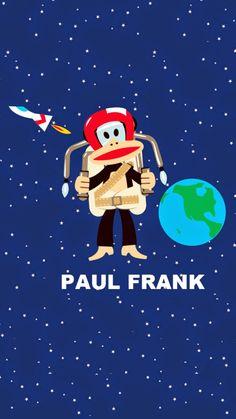 ポール・フランクiPhone壁紙 Pau