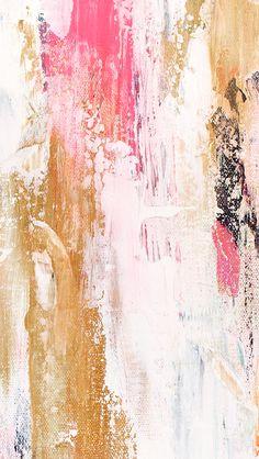 カラフルペンキiPhone壁紙 Wall