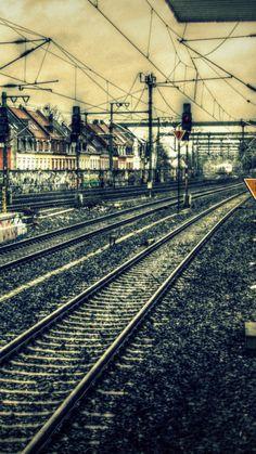 レトロな鉄道のiPhone壁紙 Wall