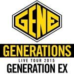 GENERATIONSのかっこいいロゴ