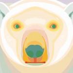 サイケデリック白熊さん