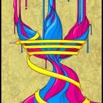 アディダス・オリジナルスロゴ&アート