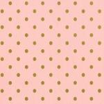 ピンク&ゴールドドット