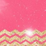 ピンク&ゴールドストライプ