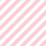 シンプルでかわいいピンクストライプ
