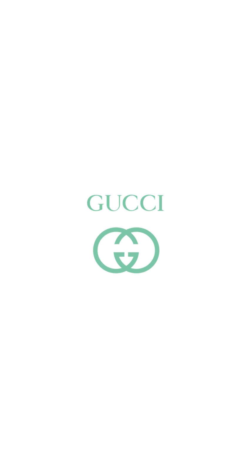 グッチ/シンプルロゴグリーン