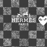 エルメス/シンプルロゴ&ブロックチェック