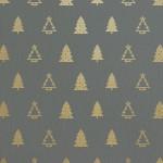 [クリスマス]ゴールドクリスマスツリーパターン