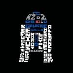スター・ウォーズ/フォースの覚醒/R2-D2のタイポグラフィ