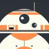スター・ウォーズ/フォースの覚醒/BB-8のどアップ