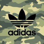 [カモフラ]アディダスロゴ/adidas Logo2