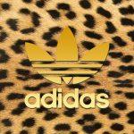 [ヒョウ柄]アディダスロゴ/adidas Logo2