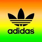 [ラスタカラー]アディダスロゴ/adidas Logo