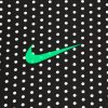 [水玉/ドット]ナイキロゴ/NIKE Logo