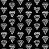 ダイヤモンド柄