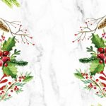 [クリスマス]水彩画風クリスマス