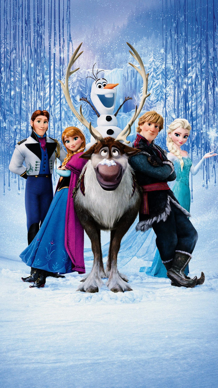 アナと雪の女王 Frozen 07 無料高画質iphone壁紙 めちゃ人気 Iphone壁紙dj