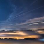 きれいな星空と夜景