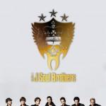 三代目 J Soul Brothersメンバー&ゴールドロゴ