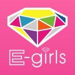 E-girlsロゴ