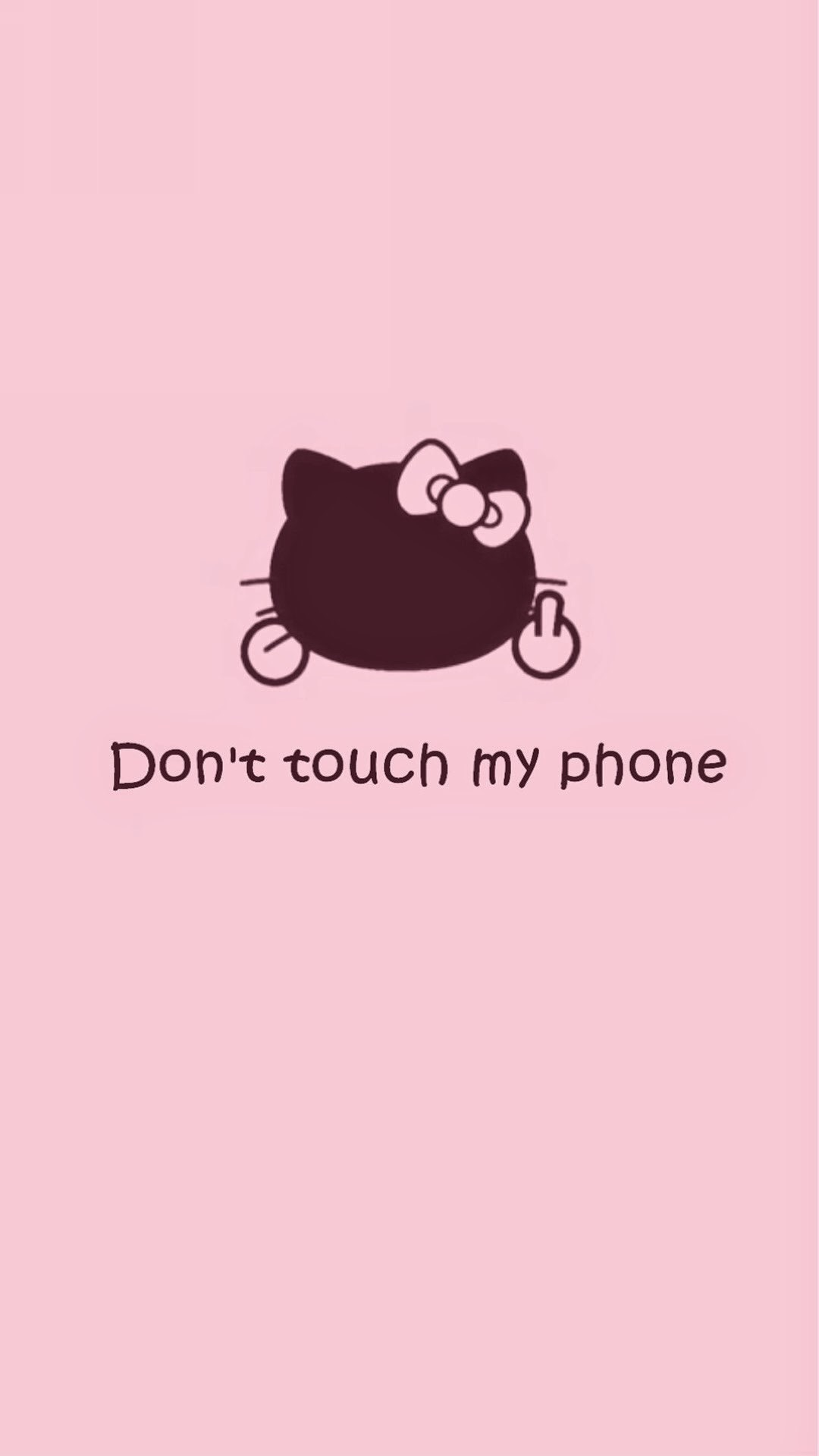 キティちゃん「Don't Touch My Phone」
