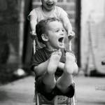 笑顔に癒やされる仲良し姉弟
