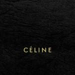 セリーヌ/キラキラロゴ&ブラックレザー