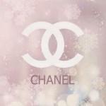 CHANELロゴ&雪の結晶