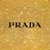 プラダ/ロゴ&ゴールド