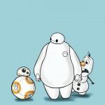 ベイマックス&オラフ&BB-8