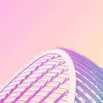 [おしゃれカラーシリーズ]美しいアーチ状の建築物