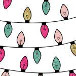 [クリスマス]かわいいカラフルネオン