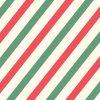 [クリスマス]クリスマスカラーストライプス