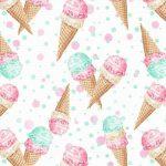 かわいいアイスクリームがいっぱい