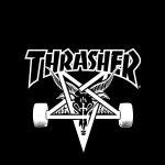 THRASHER/スラッシャー[08]無料高画質iPhone壁紙