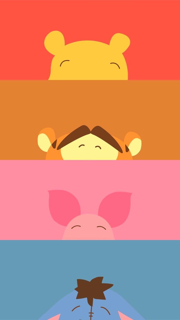 くまのプーさん ディズニー 02 無料高画質iphone壁紙 めちゃ人気 Iphone壁紙dj
