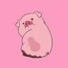 ふりかえり豚ちゃん🐖無料高画質iPhone壁紙