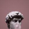 ダビデ像と風船ガム無料高画質iPhone壁紙