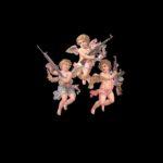 天使👼と銃無料高画質iPhone壁紙